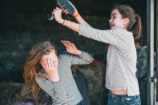 Coaching met paarden tieners
